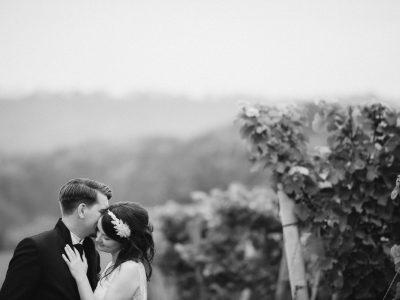 Tina und Steffen heiraten im Weingut Zahn – Saale-Unstrut